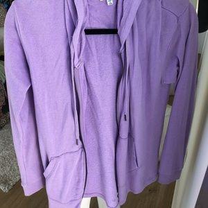 Splendid Pretty Purple Hoodie Medium